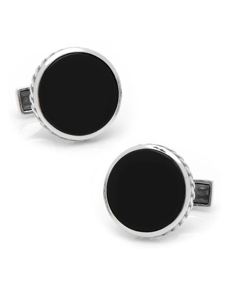 Round Scaled Cufflinks