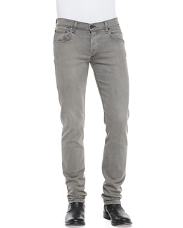 Rag & Bone Slim Skinny Denim Jeans, Gray