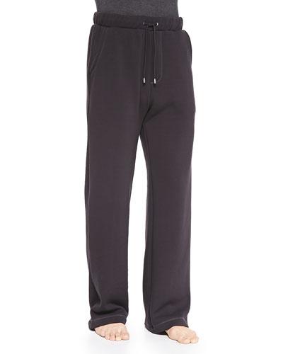 Colton Jersey Pants, Charcoal