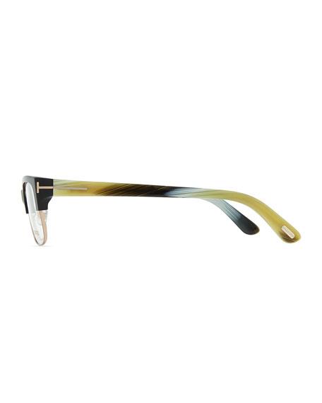 optical wire frame glasses black - Wire Framed Glasses