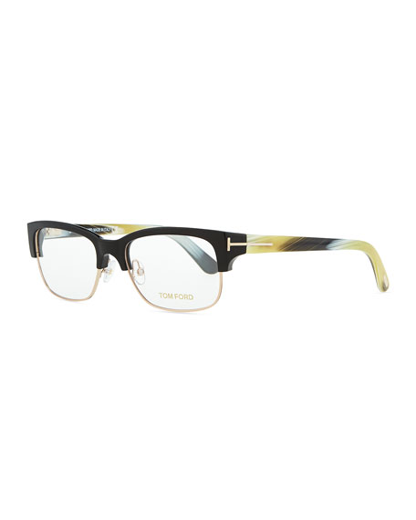 tom ford optical wire frame glasses black - Wire Frame Glasses