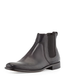 Leather Luxe Chelsea Boot
