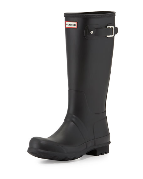 Hunter BootMen's Original Tall Wellington Boot, Black
