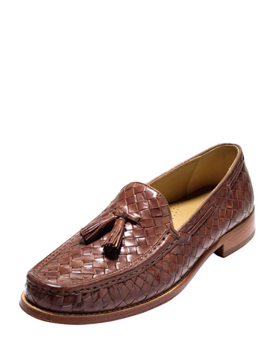 Bogart Belgian Tassel Loafer, Papaya