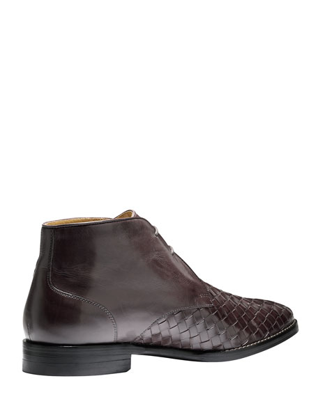 Cambridge Woven Leather Chukka