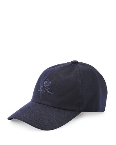 Cashmere Storm System Baseball Cap, Blue