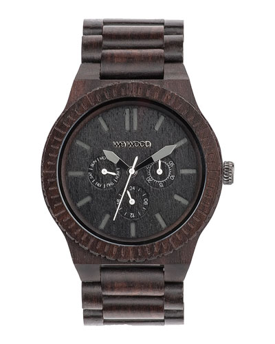 WeWood Watches Kappa Blackwood Chrono Watch
