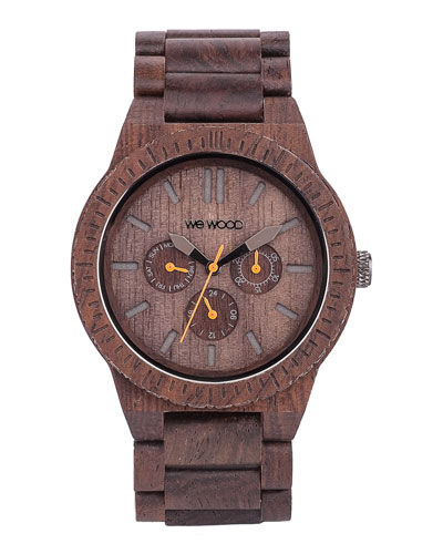 WeWood Watches Kappa Indian Rosewood Chrono Watch