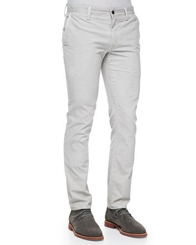 Vince Fine-Wale Corduroy Pants, Beige