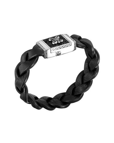 Men's Batu Dayak Large Rectangular Bracelet