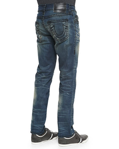 True Religion Geno Super T Rusted Iron Jeans