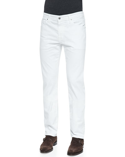AG Adriano Goldschmied Graduate Sud Jeans, White