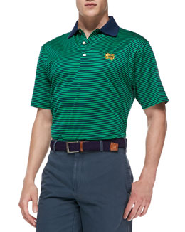 Peter Millar Notre Dame Gameday College Shirt Polo