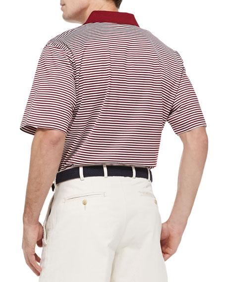 ASU Striped Gameday College Polo Shirt