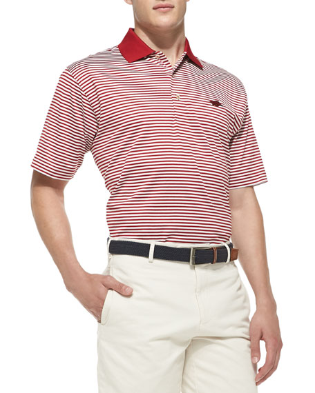 Peter Millar University of Arkansas Striped Gameday College