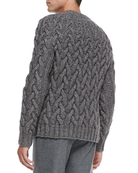 Michael Kors Chunky Cable Knit Sweater