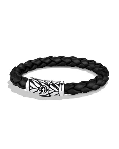 Chevron Bracelet in Black