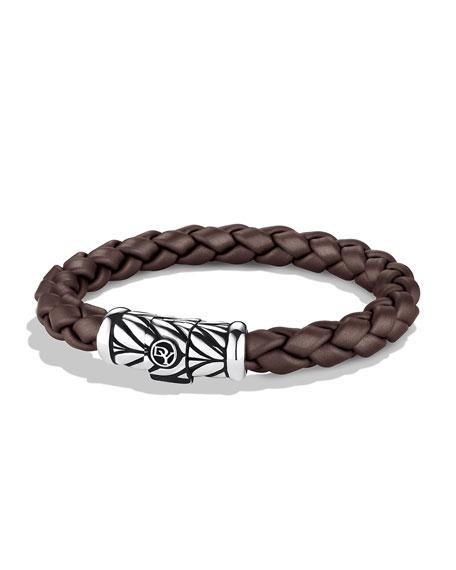 Chevron Bracelet in Brown
