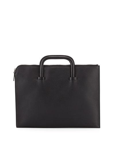Neil Pebbled Leather Portfolio