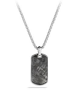 David Yurman Small Tag with Meteorite