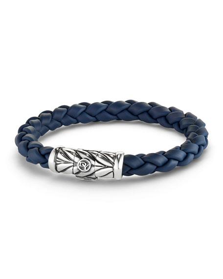 Chevron Bracelet in Blue
