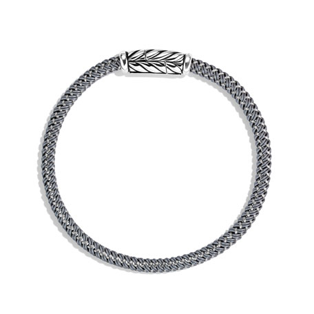 Chevron Bracelet in Gray