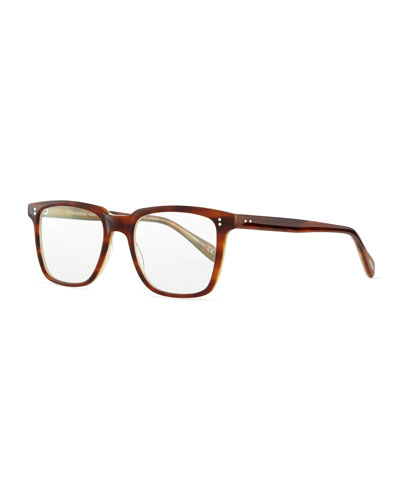 Oliver Peoples NDG 1 Fashion Glasses, Brown Tortoise