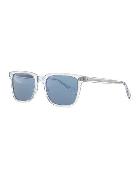 Oliver Peoples Men's NDG Sunglasses, Crystal