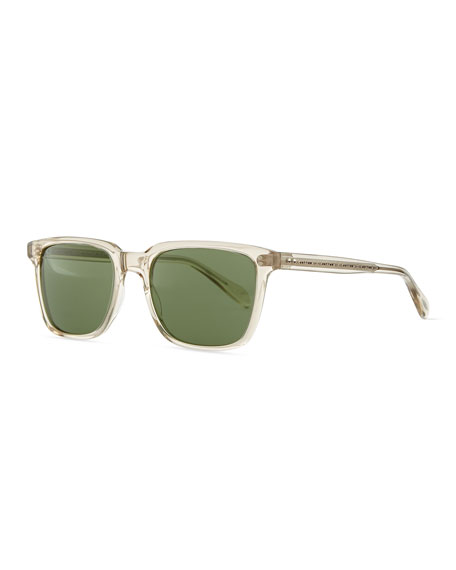 Oliver PeoplesMen's NDG Sunglasses, Buff