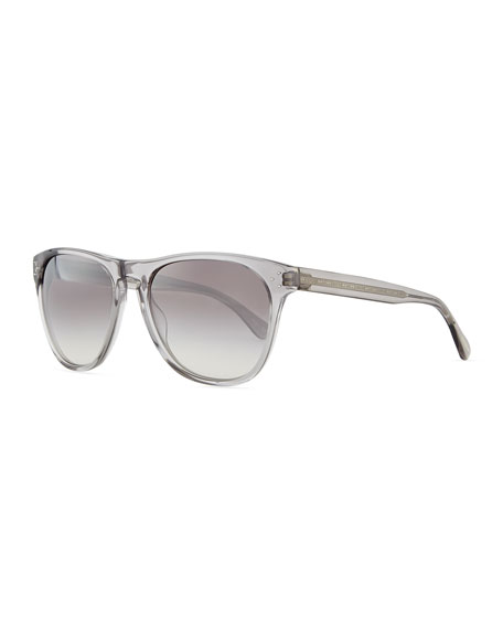Oliver Peoples Daddy B Men's Clear Acetate Sunglasses,