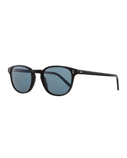 Oliver Peoples Fairmont Men's Acetate Sunglasses, Black