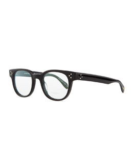 Oliver Peoples Afton Acetate Men's Fashion Glasses, Black