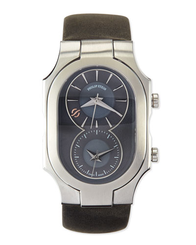 Signature Analog Watch, Gray