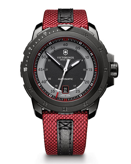 Victorinox Swiss Army Alpnach Mechanical Watch, Red