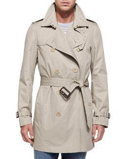 Burberry Brit Kensington Double-Breasted Trenchcoat
