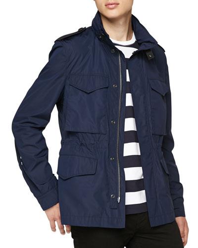 Lightweight Zip-Front Field Jacket