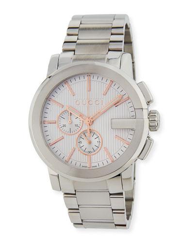 Gucci G-Chrono XL Watch, Silver
