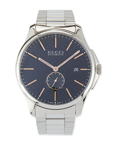 G-Timeless Large Stainless Steel Automatic Watch