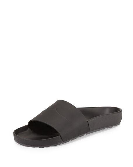 Mens Sandals Hunter Contrast Mustache Slide Sandal Blue Boots Sandals BLUE Coupons