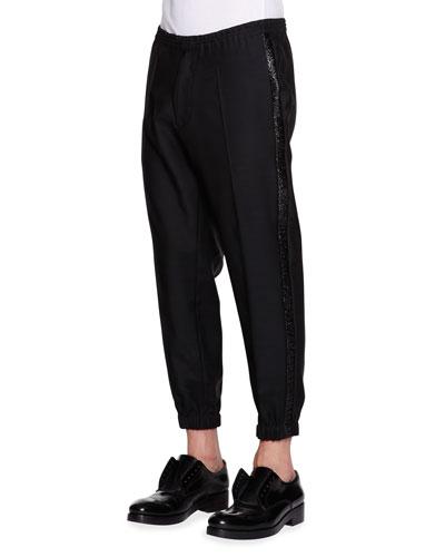 Evening Jogging Pants, Black