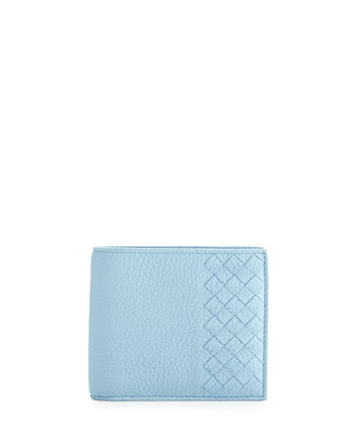 Chervo Bi-Fold Wallet, Light Blue