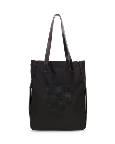 Stud-Skull Shopper Bag, Black