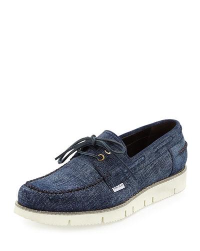 Watson Denim Boat Shoe