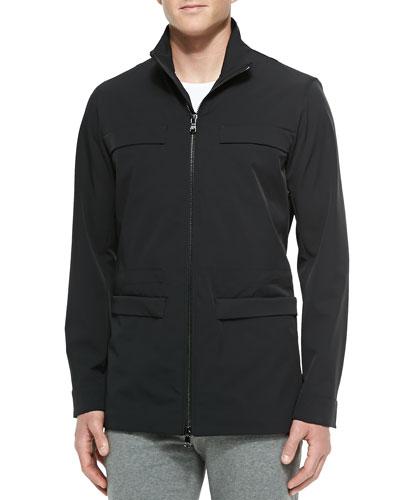 Utility Jacket, Black