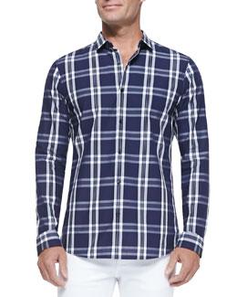 Roderick Plaid Poplin Shirt