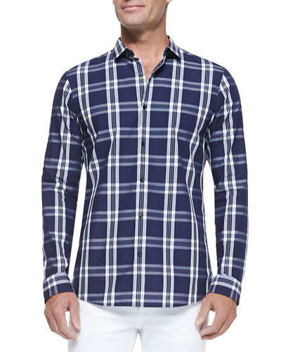 Roderick Plaid Poplin Shirt