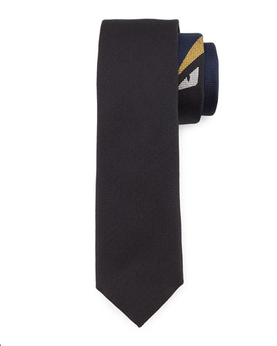 Monster Eyes Tie, Black