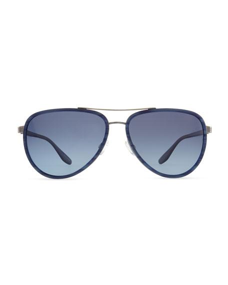 Marshall Aviator Sunglasses, Blue