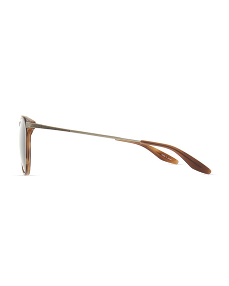 Hakan Square Sunglasses, Brown