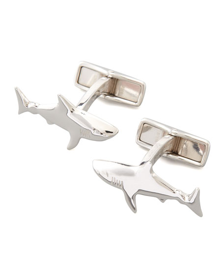 Alfred Dunhill Shark Cuff Links